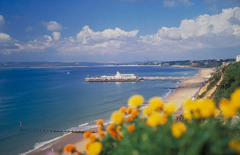 View of Bournemouth Pier from the Cliffs - TravelRest Hotels